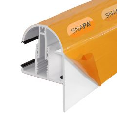 Snapa Gable Bar 10,16,25,32,35mm Inc. End Cap 5m