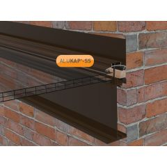 Alukap-SS High Span Wall Bar in Brown