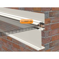 Alukap-SS High Span Wall Bar in White