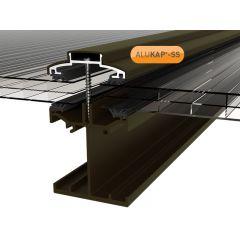 Alukap-SS Low Profile Bar in Brown