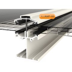 Alukap-SS Low Profile Bar in White