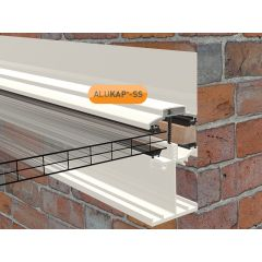 Alukap-SS Low Profile Wall Bar in White