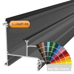 Alukap-SS Wall & Eaves Beam in a powder coated finish.