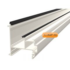 Alukap-SS Wall & Eaves Beam in White