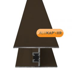 Alukap-XR 24mm Horizontal Glazing Bar - Brown