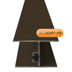 Alukap-XR 32mm Horizontal Glazing Bar - Brown