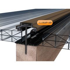 Alukap-XR 45mm Aluminium Bar in Brown