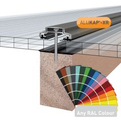 Alukap-XR 45mm Aluminium Bar in a powder coated finish.