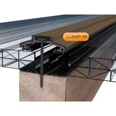 Alukap-XR 60mm Aluminium Bar in Brown