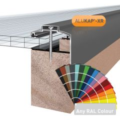 Alukap-XR 60mm Gable Bar in a powder coated finish.