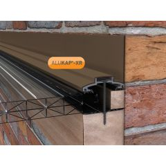 Alukap-XR 60mm Wall Bar in Brown