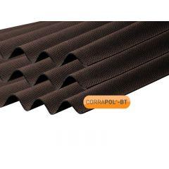Corrapol-BT Corrugated Bitumen Roof Sheet in Brown