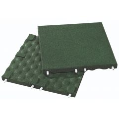 Rubberlok Safety Slab Green 500x500x40mm