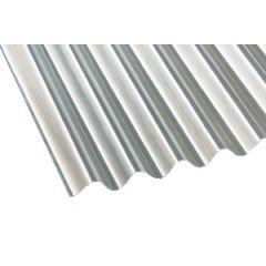 Gutta transparent corrugated roof sheet.