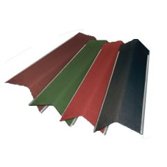Gutta gable angles available in black, brown, green and red.
