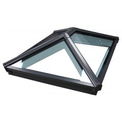 Korniche Aluminium Roof Lantern in Grey/White