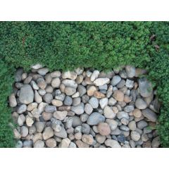 Wallbarn 20-40mm Riverstone Pebbles - 25kg bags - ex works