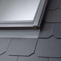 VELUX EDL slate flashing.