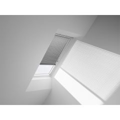 VELUX PAL Manual Venetian Blind in charcoal.