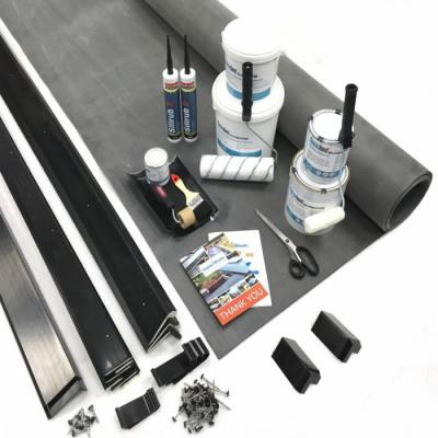 What Is In A Rubber Roof Kit?