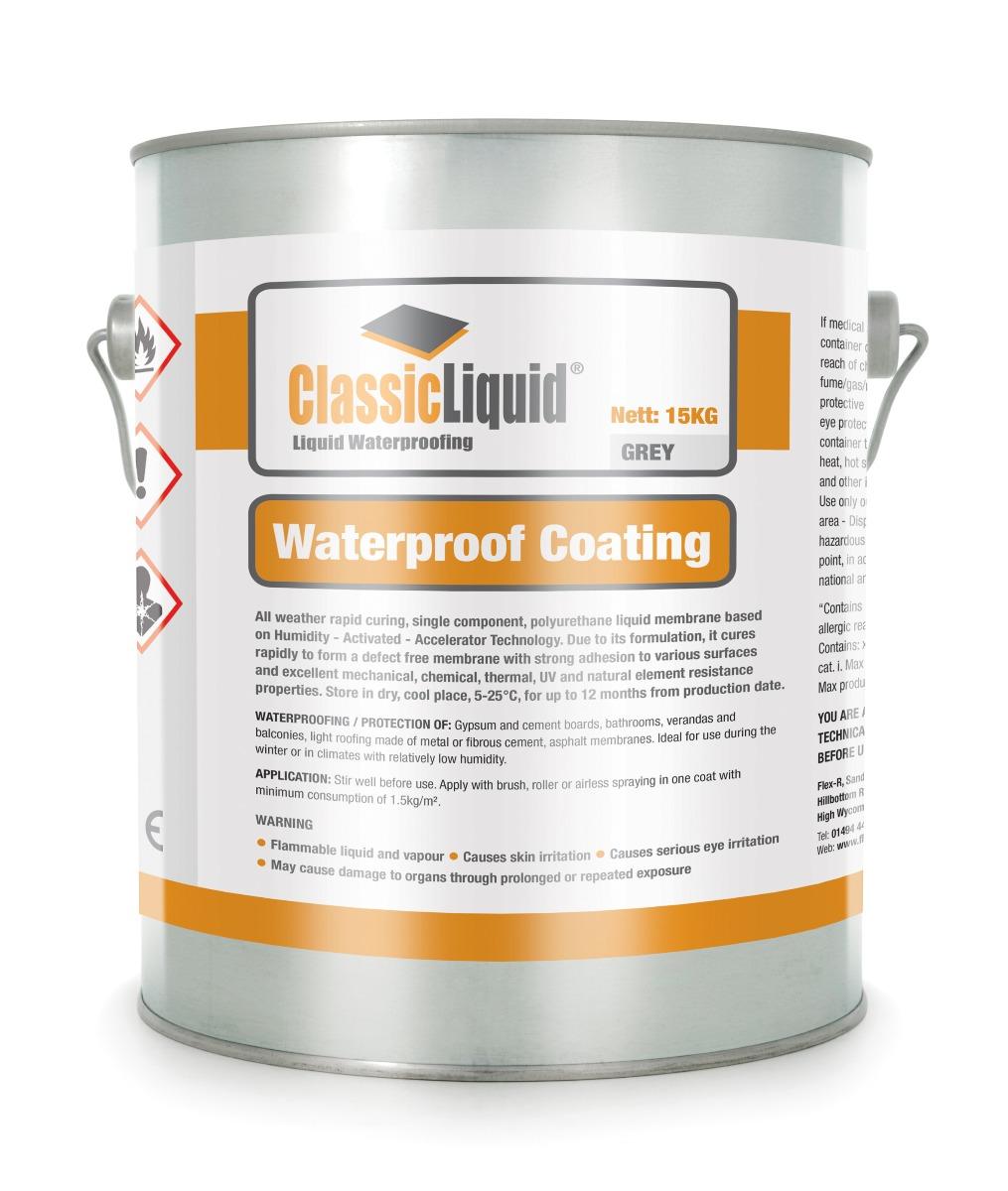 Classix Liquid Flat Roof Material